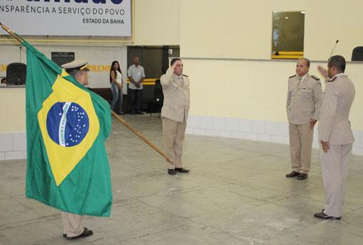 Polícia Militar realiza passagem de comando da 34ª CIPM em Brumado