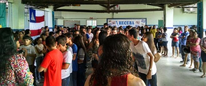 Escola Municipal Dona Tina inicia ano letivo em Livramento