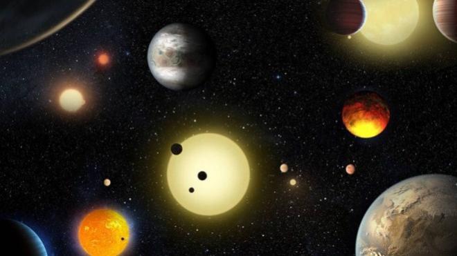 Nasa anuncia a descoberta de 7 planetas parecidos com a Terra