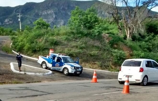 Rio de Contas: durante o Carnaval, PRE realizará operações em rodovias de acesso ao município