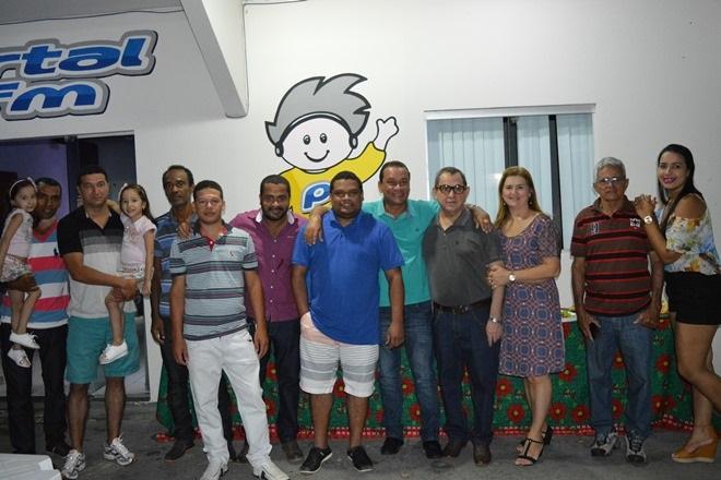 Rádio Portal FM realizou confraternização entre funcionários, amigos e familiares