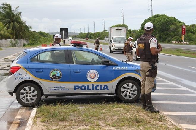 Polícia registra 17% de redução de mortes nas rodovias baianas