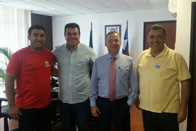 Prefeito de Livramento esteve reunido com secretário de saúde do estado da Bahia