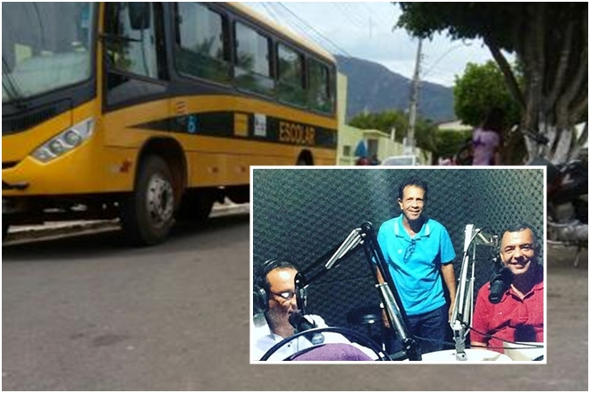 Livramento: Prefeito Ricardinho desmonta as tetas do transporte escolar