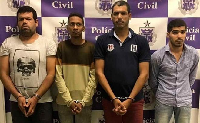 Quatro homens são presos por fraudar roubo de carro para ficar com dinheiro de seguro