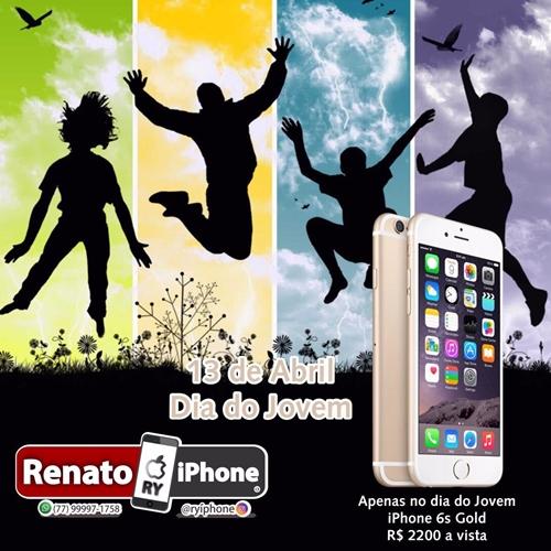 Dia Do Jovem: Loja Renato iPhone lança grande promoção