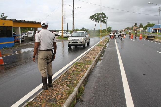 Cerca de 6 mil pessoas foram abordadas nas rodovias estaduais