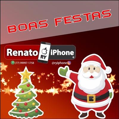 Mensagem de Natal da Loja Renato Iphone