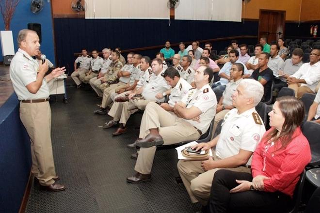 Caetité: Polícia militar realiza reunião com gestores municipais da área da 94ª CIPM