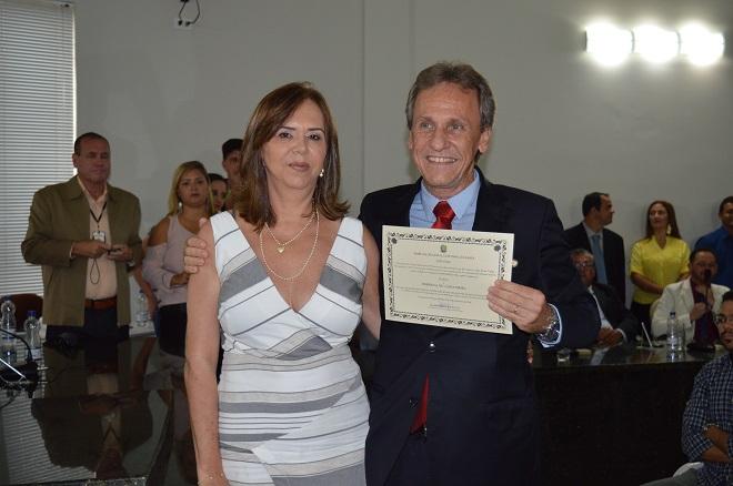 Prefeito, vice-prefeito e vereadores de Dom Basílio são diplomados