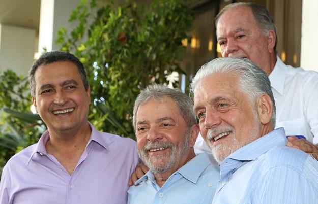 Lula se diz valioso para eleição 2018 e cita Rui e Wagner para presidência