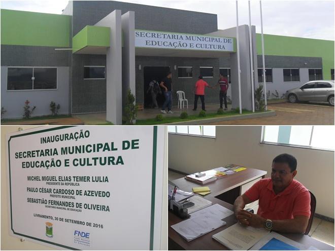 Secretaria Municipal de Educação ganha sede própria e apresenta resumo positivo de avanços e conquistas
