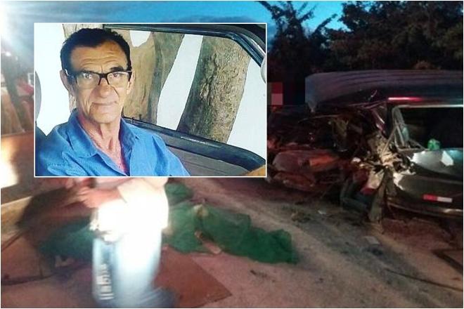 Brumado: Após ser socorrido, motorista de van que colidiu contra retroescavadeira não resiste e morre