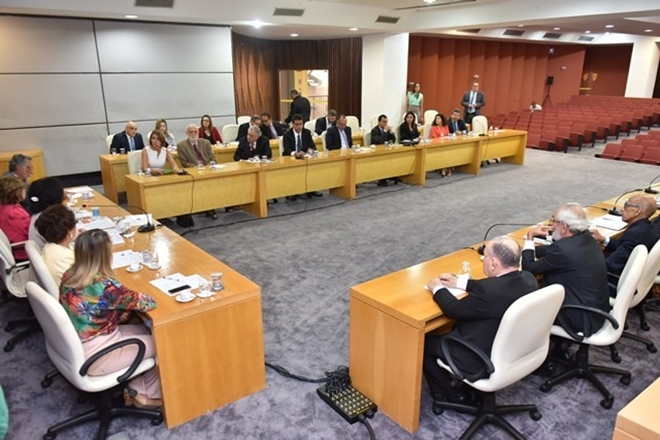 Integrantes do Sistema de Justiça Criminal debatem situação das unidades prisionais na Bahia