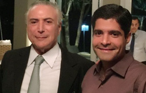 Em jantar com Temer, Neto comunica interesse em disputar o governo da Bahia