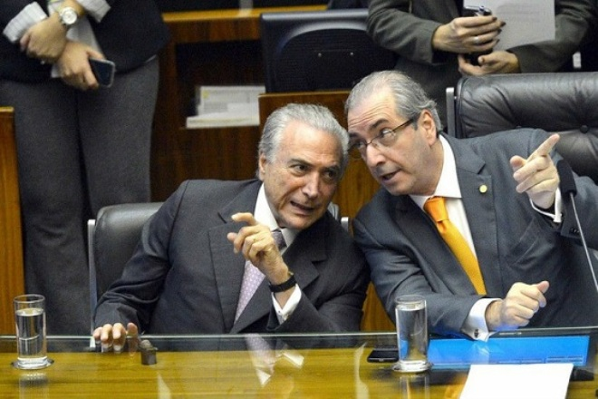 Dono da JBS grava Temer dando aval para compra de silêncio de Cunha