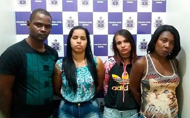 Quatro são presos em motel da Bahia com meio quilo de cocaína