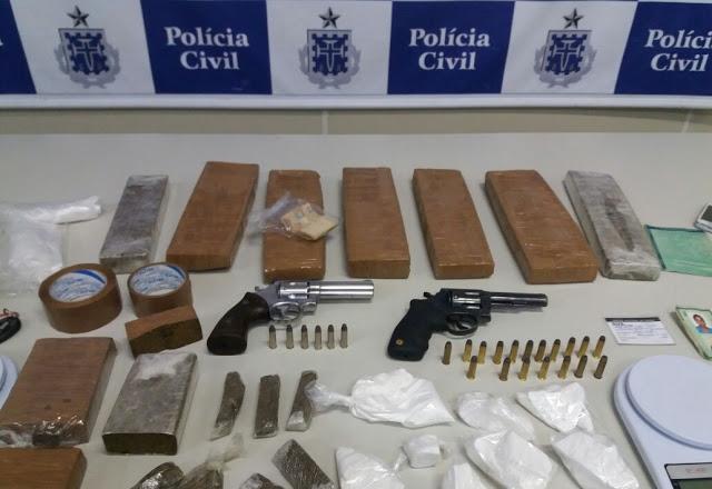 Polícia desarticula quadrilha suspeita de Tráfico de Drogas em Conquista