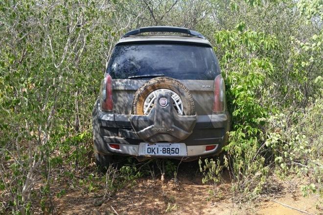 Livramento: Polícia localiza veículo utilizado em assalto a joalheria