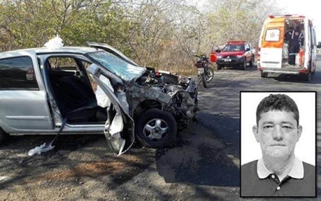 Vice-prefeito de cidade baiana morre em acidente no estado de MG