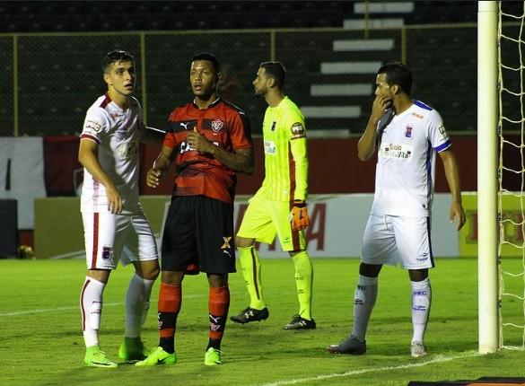 Esporte: Vitória perde em casa para o Paraná por 2×0 e se complica na Copa do Brasil